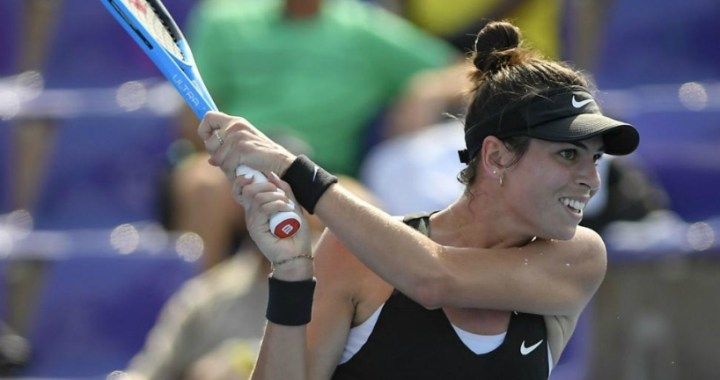 Dubai Ajla Tomljanovic was defeated in the first round