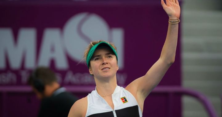 Elina Svitolina became the semifinalist of the Doha tournament