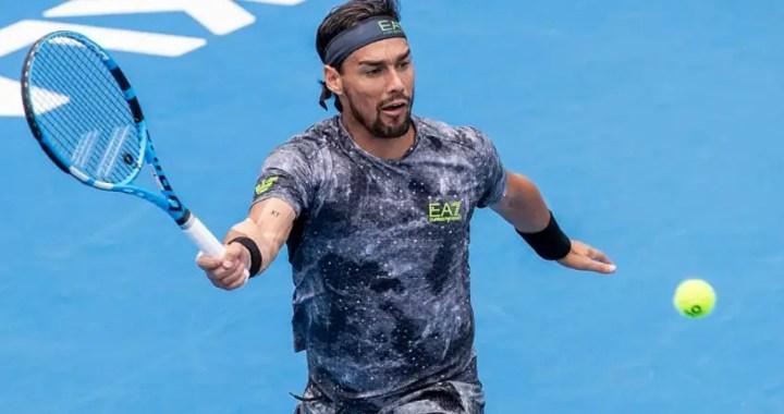 Fabio Fognini lost in the second round of the tournament in Cordoba