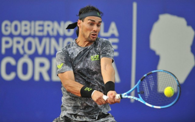 Fabio Fognini leaves competition in Buenos Aires