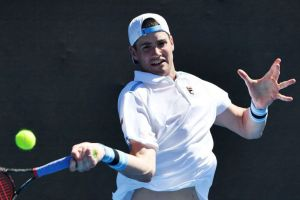 John Isner: The courts in New York are great guys with powerful pitch