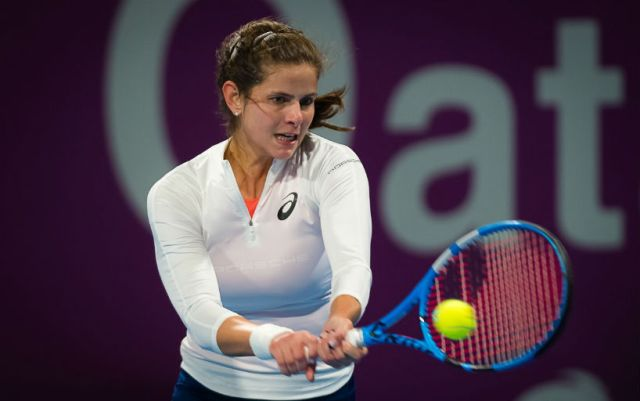 Julia Goerges: I moved very well