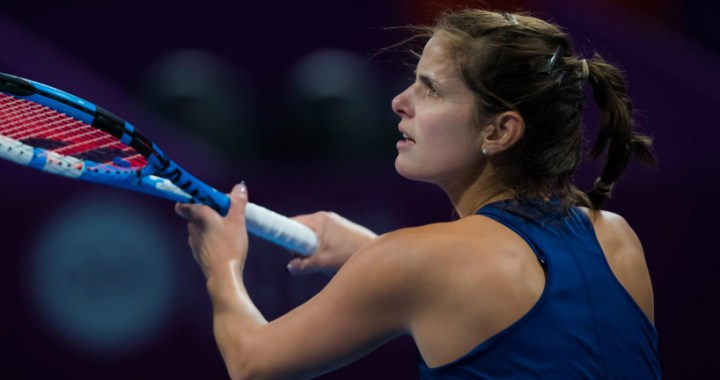 Julia Goerges leaves competition in Dubai