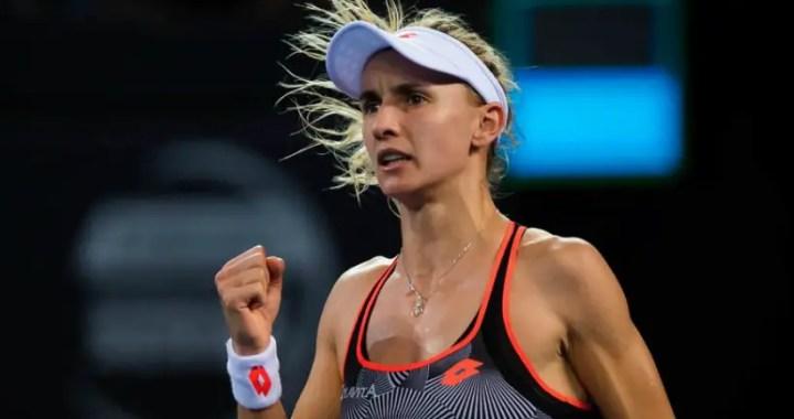 Lesia Tsurenko advanced in the second round on the refusal of Yulia Putintseva in Dubai