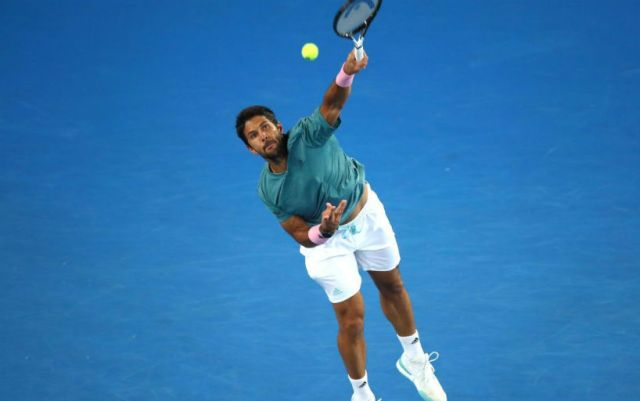 Marseilles. Fernando Verdasco was defeated in the second round