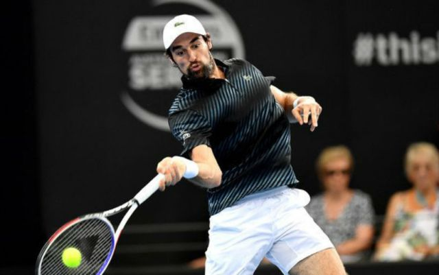 Montpellier. Jeremy Chardy gave only two games to his opponent