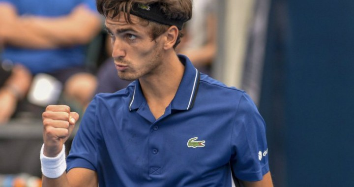 Montpellier. Herbert Pierre-Hugues  gave only three games to his opponent