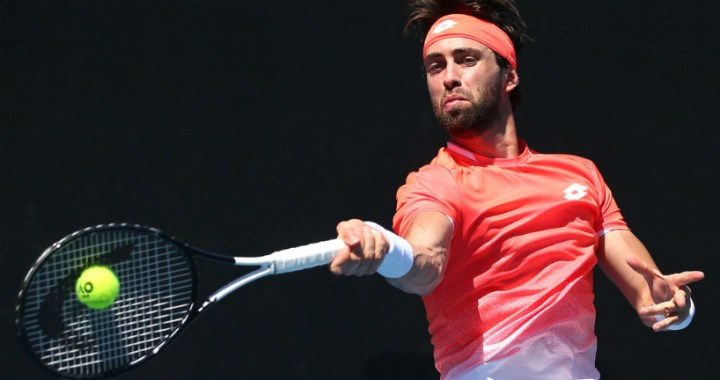 Nikoloz Basilashvili leaves the tournament in Sofia