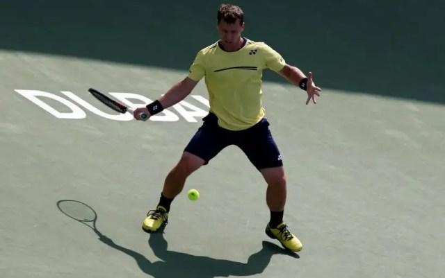Ricardas Berankis made it to the quarter finals of the tournament in Dubai