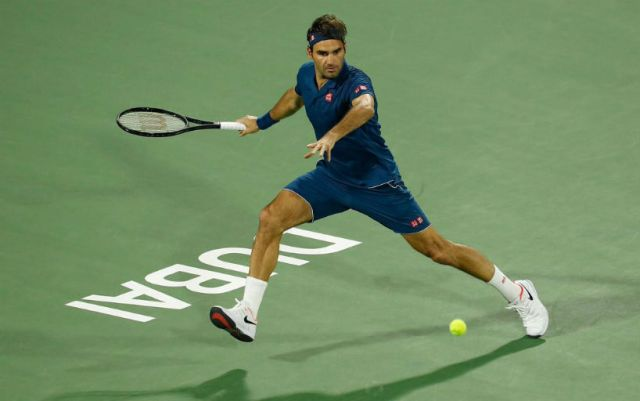 Roger Federer continues performance in Dubai