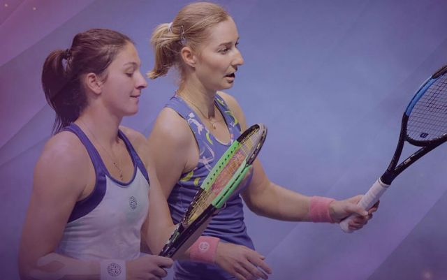 St. Petersburg. Gasparyan and Makarova became champions of the doubles tournament