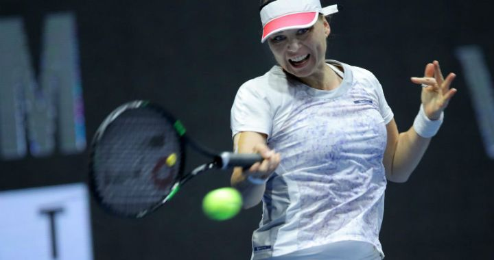 St. Petersburg. Vera Zvonareva lost to Donna Vekic in the semifinal