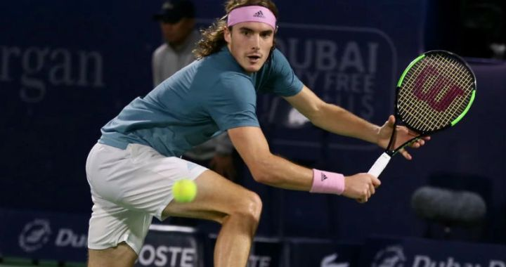 Stephanos Tsitsipas went to the semifinals of the tournament in Dubai