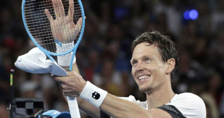 Tomas Berdych won the second round match in Montpellier