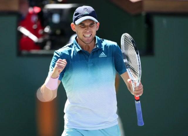 Dominic Thiem vs Milos Raonic   Indian Wells 2019   Semifinals  Highlights