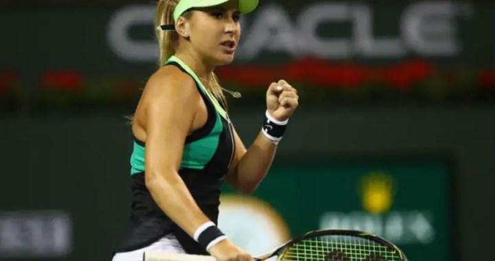 BNP Paribas Open. Belinda Bencic took over Ekaterina Aleksandrova