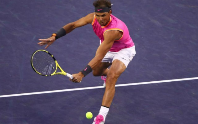 BNP Paribas Open. Rafael Nadal gave his opponent only four games