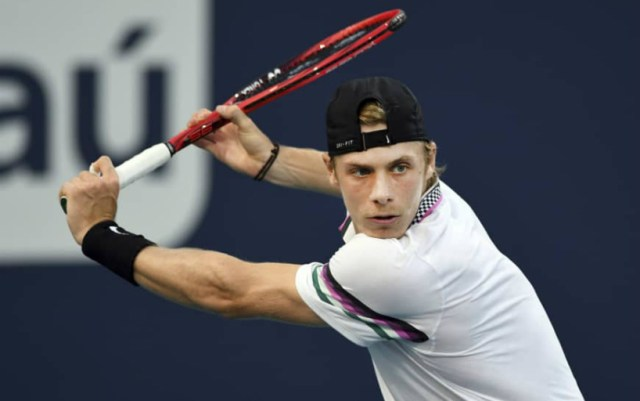 Denis Shapovalov will play for the first time at the Queen's Club tournament