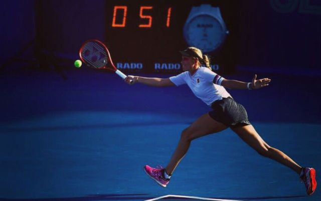Donna Vekic lost in the semifinals of the tournament in Acapulco