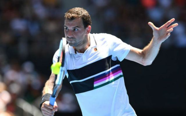 """Grigor Dimitrov completed the performance at the """"Masters"""" in Miami"""