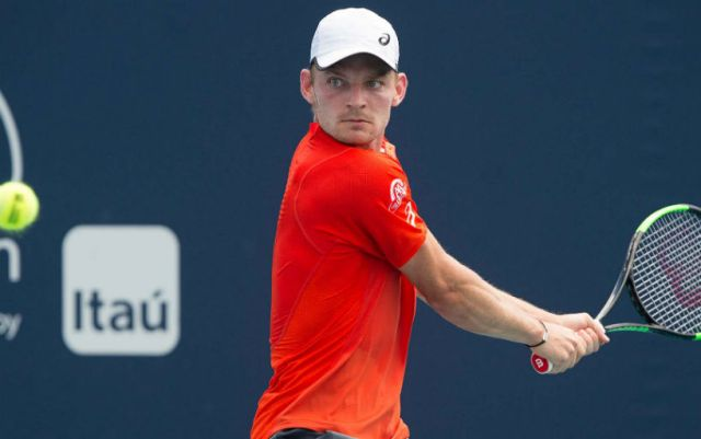Miami David Goffin reached the 1/8 finals