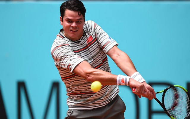 Miami. Miloš Raonic was defeated by Kyle Edmund