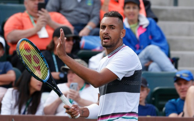 Miami Nick Kyrgios gave his opponent only four games