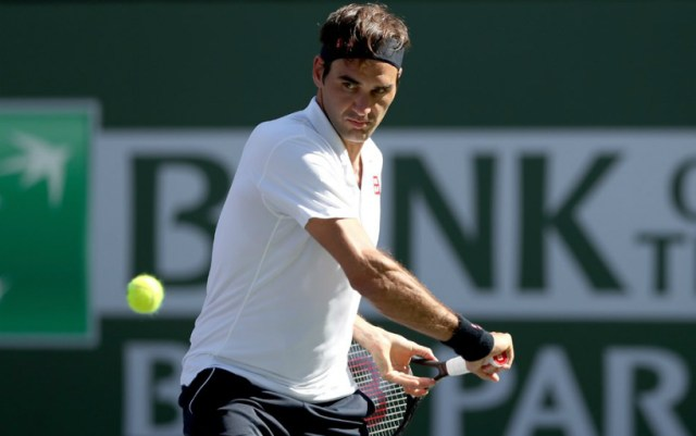 Roger Federer became the semifinalist of the Indian Wells tournament