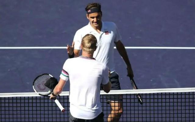 Roger Federer: Edmund rather weakly started the match