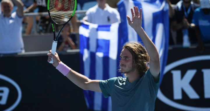 Stefanos Tsitsipas: I'm still happy for Federer