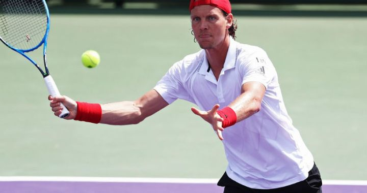 Tomas Berdych withdrew from the tournament in Miami