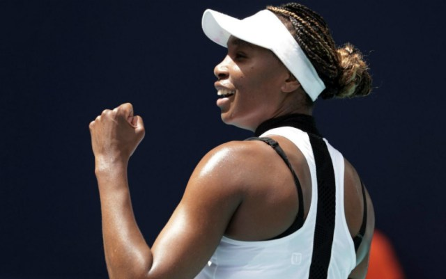 Venus Williams: Took all the games on the pitch Kasatkina, this is my first