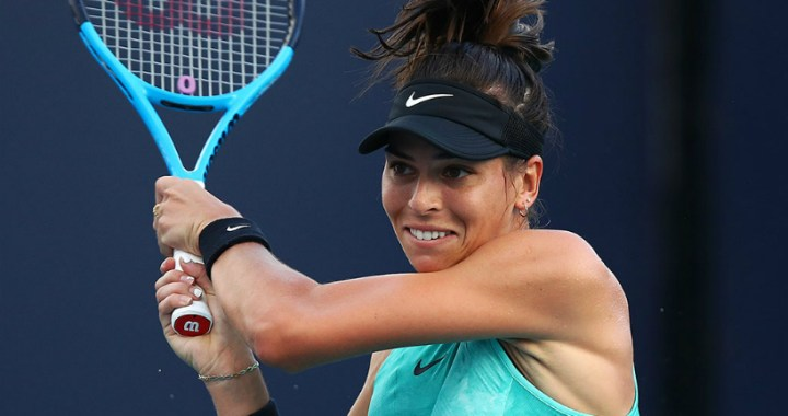 Ajla Tomljanovic continues performance at Volvo Car Open competitions