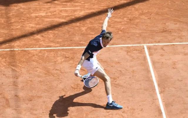 Barcelona. Daniil Medvedev reached the final by defeating Kei Nishikori