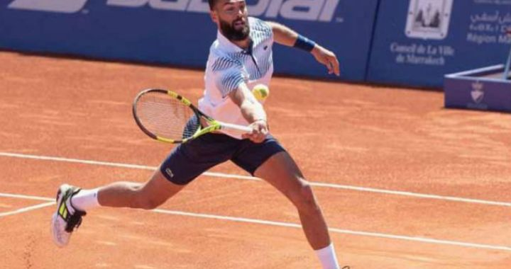 Benoit Paire won the tournament in Marrakech