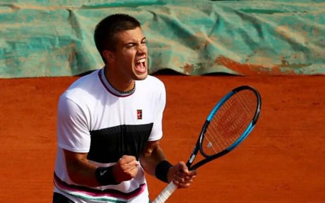 Borna Coric continues performance in Monte-Carlo