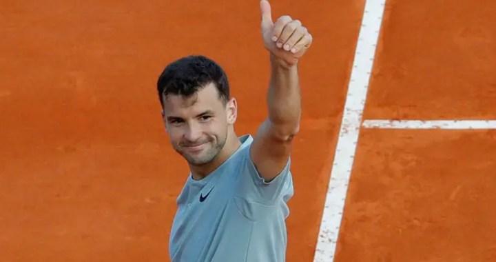 Grigor Dimitrov continues performance in Monte-Carlo