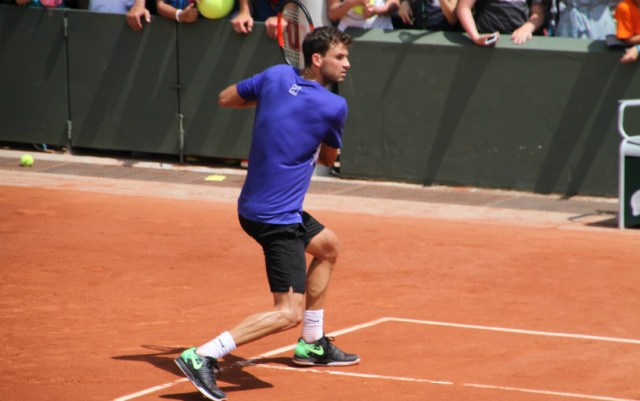 Grigor Dimitrov leaves the competition in Barcelona