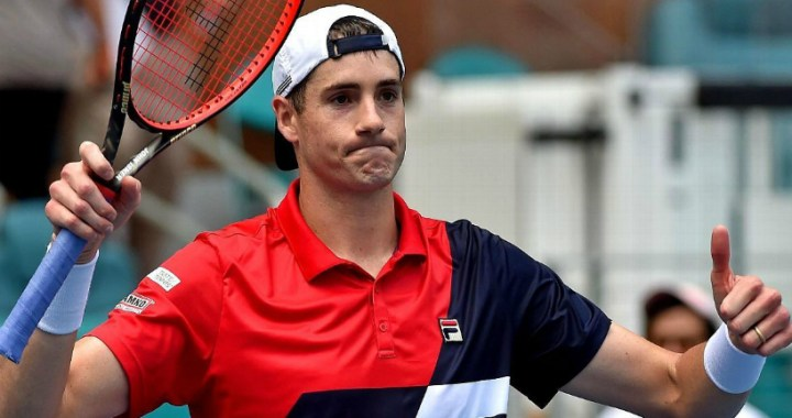 John Isner: Now I can not step on my foot