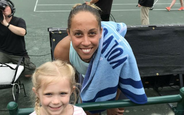Madison Keys: I knew that the result will come