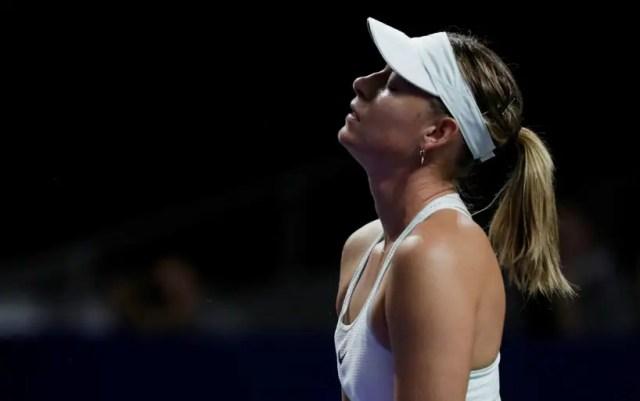 Maria Sharapova: Not ready to perform at a high level.