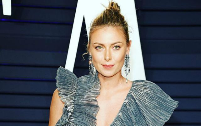 Maria Sharapova published a photo from the shooting of the project on her script