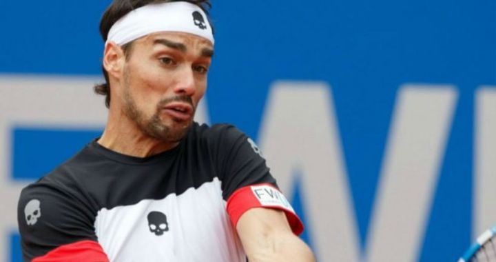 Marrakesh. Fabio Fognini lost to Jiri Vesely in the opening match