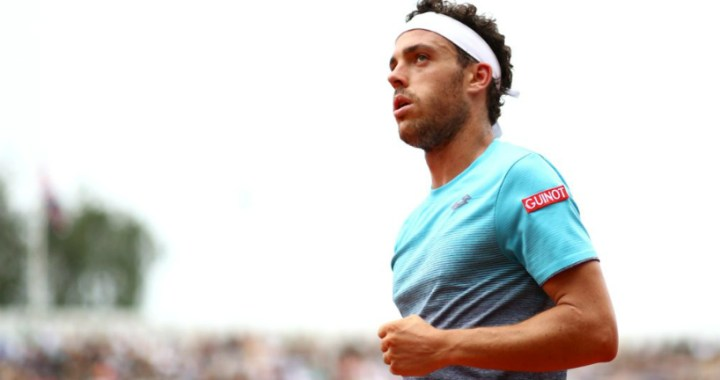 Monte Carlo. Marco Cecchinato went into the second round on the opponent's refusal