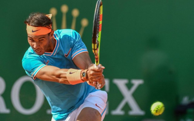 Monte Carlo. Rafael Nadal was defeated by Fabio Fognini in the semifinal