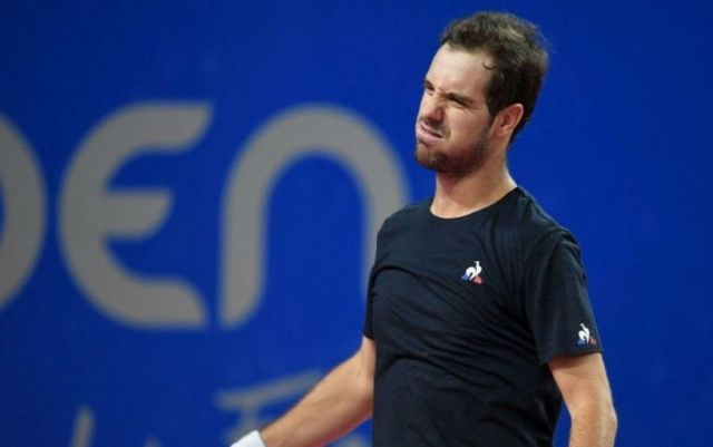 Richard Gasquet withdrew from the tournament in Monte Carlo