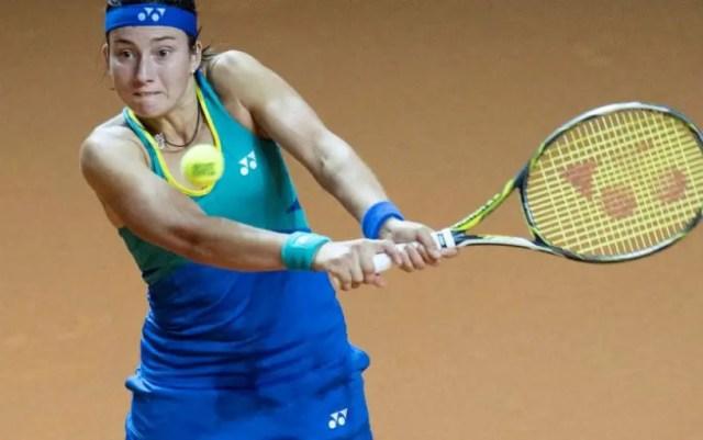 Stuttgart Anastasia Sevastova took over Jelena Ostapenko