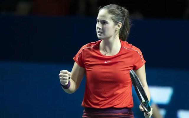 Stuttgart. Daria Kasatkina defeated Elise Mertens