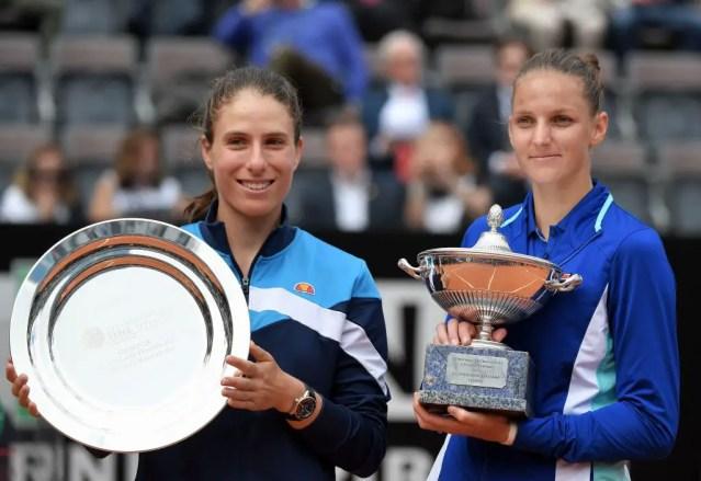 Johanna Konta vs. Karolina Pliskova   2019 Italian Open Final   WTA Highlights