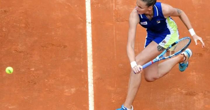 Karolina Pliskova leaves Roland Garros
